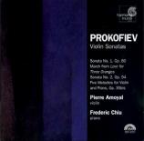 PROKOFIEV - Amoyal - Sonate pour violon et piano n°1 en fa mineur op.80