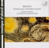 BRAHMS - Portal - Sonate pour clarinette et piano n°1 en fa mineur op.12