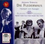 STRAUSS - Karajan - Die Fledermaus (La chauve-souris), opérette WoO RV.5 live à Vienne le 31 décembre, 1960