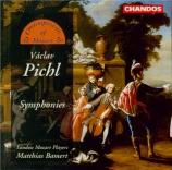 PICHL - Bamert - Symphonie en si bémol majeur Z23