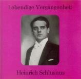STRAUSS - Schlusnus - Heimkehr, pour voix et piano op.15 n°5
