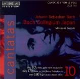 Cantatas Vol.10