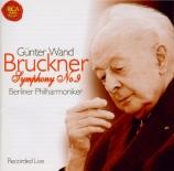 BRUCKNER - Wand - Symphonie n°9 en ré mineur WAB 109