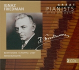BEETHOVEN - Friedman - Sonate pour piano n°14 op.27 n°2 'Clair de lune'