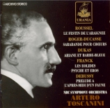 ROUSSEL - Toscanini - Le festin de l'araignée op.17 : Suite n°2