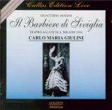 ROSSINI - Giulini - Il barbiere di Siviglia (Le barbier de Séville) live Scala di milano, 1956