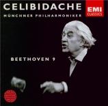 BEETHOVEN - Celibidache - Symphonie n°9 op.125 'Ode à la joie'