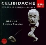 BRAHMS - Celibidache - Ein deutsches Requiem (Un Requiem allemand), pour