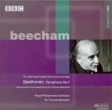 BEETHOVEN - Beecham - Symphonie n°7 op.92