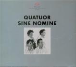 Quatuors à cordes suisses romands de notre temps