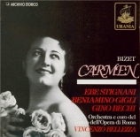 BIZET - Bellezza - Carmen, opéra comique WD.31 (Live RAI Roma 1945) Live RAI Roma 1945