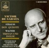 STRAUSS - De Sabata - Don Quixote, pour violoncelle, alto et grand orche