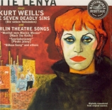 Lotte Lenya sings Kurt Weill
