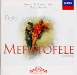BOITO - Serafin - Mefistofele : extraits