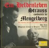 STRAUSS - Mengelberg - Ein Heldenleben, poème symphonique pour grand orc
