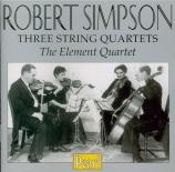 SIMPSON - Element Quartet - Quatuor à cordes n°1