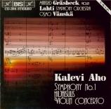 AHO - Vänskä - Symphonie n°1