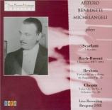 SCARLATTI - Michelangeli - Sonate pour clavier en do mineur K.11 L.352 Live Bregenz 1988