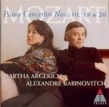 MOZART - Argerich - Concerto pour piano et orchestre n°20 en ré mineur K