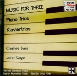 Music for three (Trios avec piano)