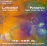 PENDERECKI - Thedeen - Concerto pour violoncelle et orchestre n°2 (1982)