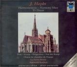 HAYDN - Kuijken - Harmoniemesse, pour solistes, chœur mixte, orchestre e