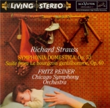 STRAUSS - Reiner - Symphonia domestica, pour grand orchestre op.53