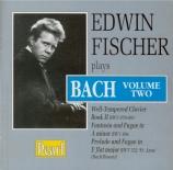 Edwin Fischer plays Bach Vol.2