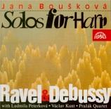 RAVEL - Bouskova - Introduction et allegro, pour harpe, flûte, clarinett