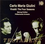 VIVALDI - Parikian - Concerto pour violon, cordes et b.c. en mi majeur o