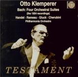 BACH - Klemperer - Quatre suites pour orchestre BWV 1066-1069
