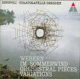 WEBERN - Sinopoli - Symphonie op.21