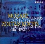 MOZART - Kocsis - Concerto pour piano et orchestre n°19 en fa majeur K.4