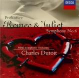 PROKOFIEV - Dutoit - Symphonie n°6 en mi bémol mineur op.111