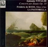 VIVALDI - De Roos - Concerto pour flûte, cordes et b.c. en fa majeur op