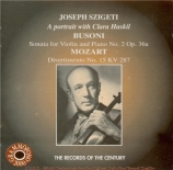 BUSONI - Szigeti - Sonate pour violon et piano n°2 op.36a