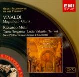 VIVALDI - Muti - Magnificat en sol mineur, pour soprano, alto, chœur, co