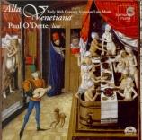 Alla Venetiana (musique vénitien pour luth)