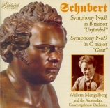 SCHUBERT - Mengelberg - Symphonie n°8 'Inachevée' D.759