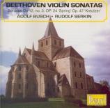 BEETHOVEN - Serkin - Sonate pour violon et piano n°3 op.12 n°3