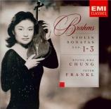 BRAHMS - Chung - Sonate pour violon et piano n°1 en sol majeur op.78