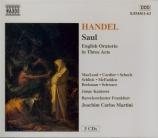 HAENDEL - Martini - Saul, oratorio HWV.53