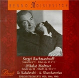 KABALEVSKI - Moiseiwitsch - Sonate pour piano n°3 op.46