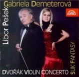 DVORAK - Demeterova - Concerto pour violon op.53