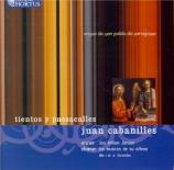 CABANILLES - Jansen - Tientos