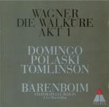 WAGNER - Barenboim - Die Walküre WWV.86b : acte 1