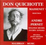 MASSENET - Gressier - Don Quichotte : extraits
