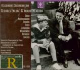 Menuhin & Enesco : A Legendary Collaboration