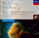 HOLST - Mehta - The Planets (Les planètes), pour orchestre op.32