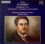 SCHMIDT - Halasz - Symphonie n°1